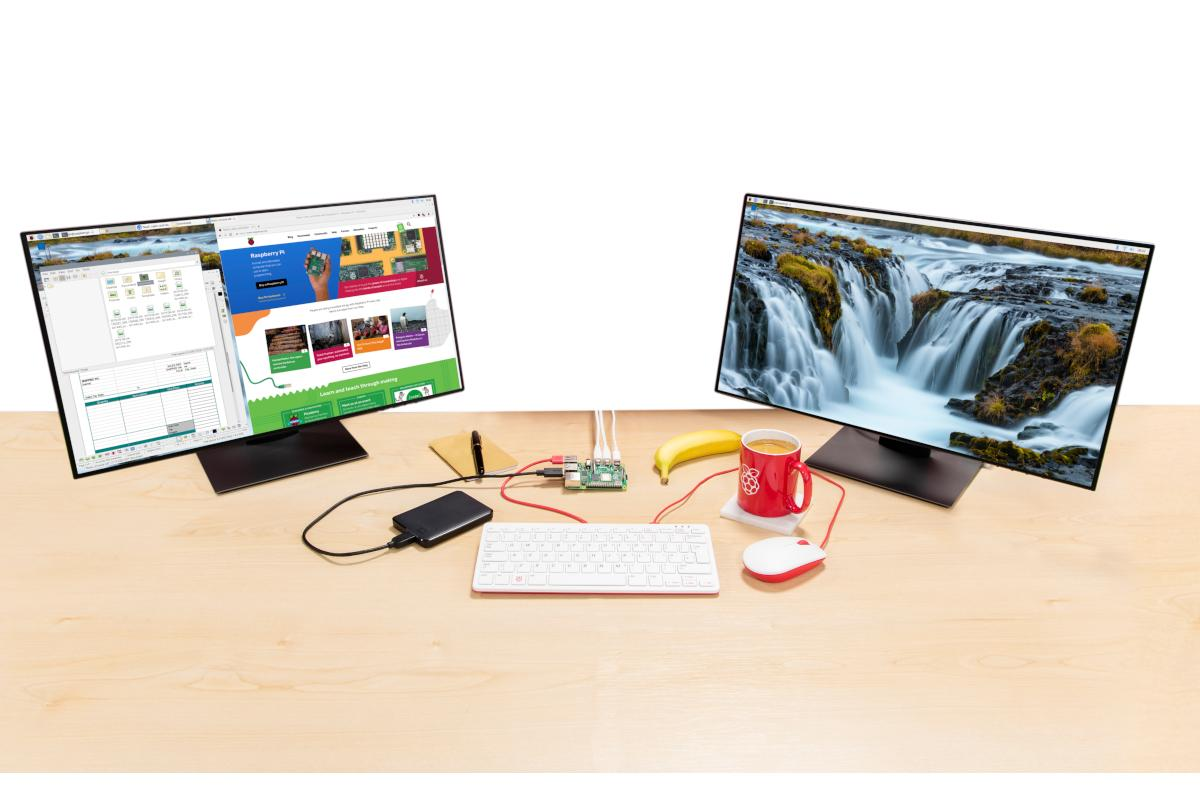 The Raspberry Pi 4 arrives with more power and dual-4K display