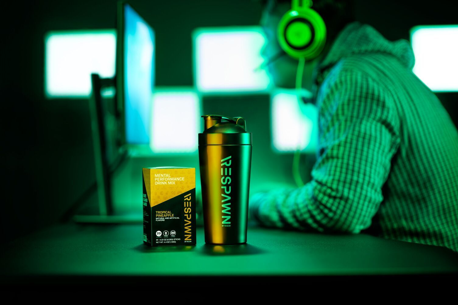Razer Respawn: A 'mental performance drink' for people who