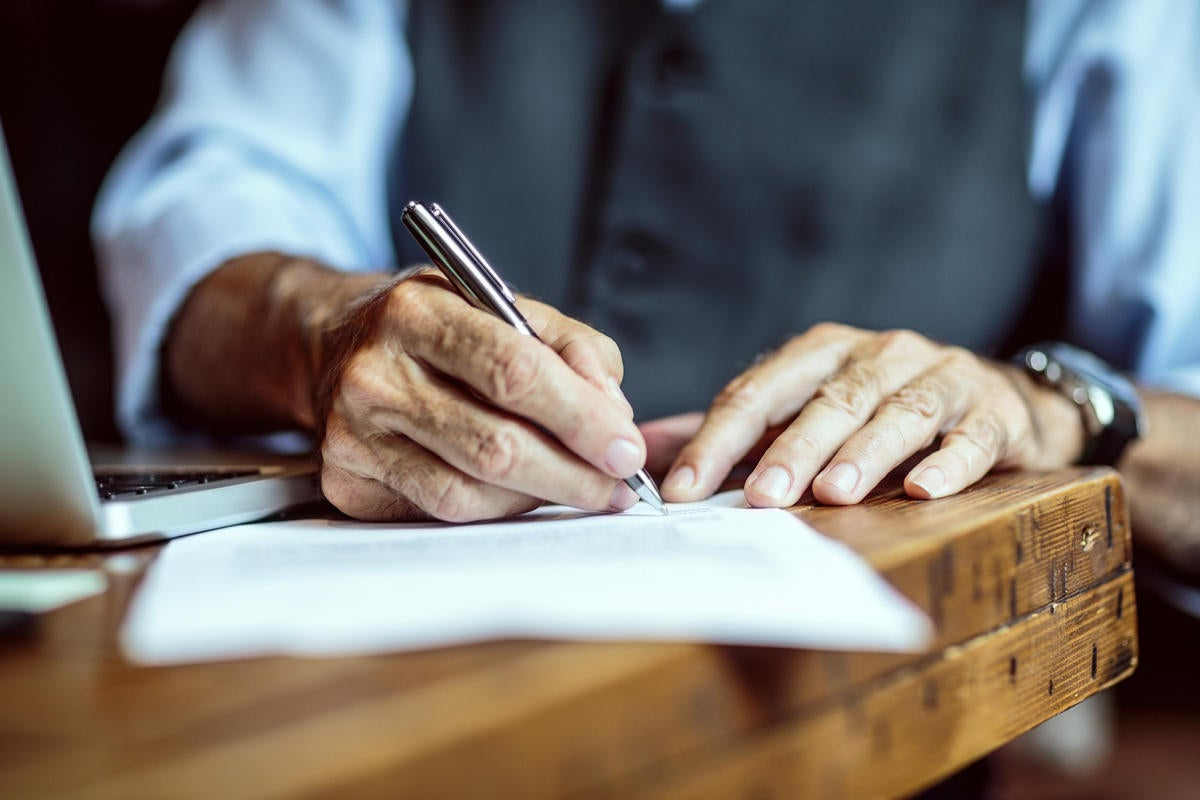 rfp write a proposal document contract signature deal agreement paper by extreme media getty