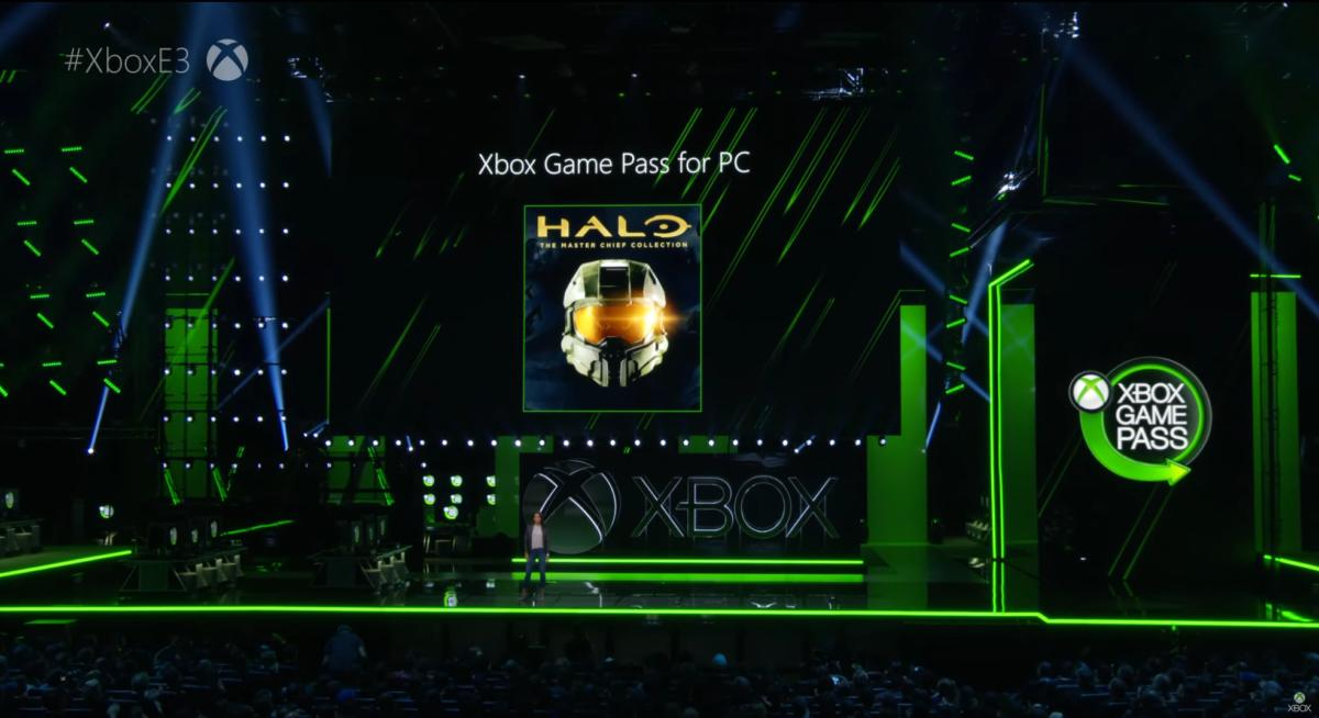 Xbox Game Pass for PC Halo teaser