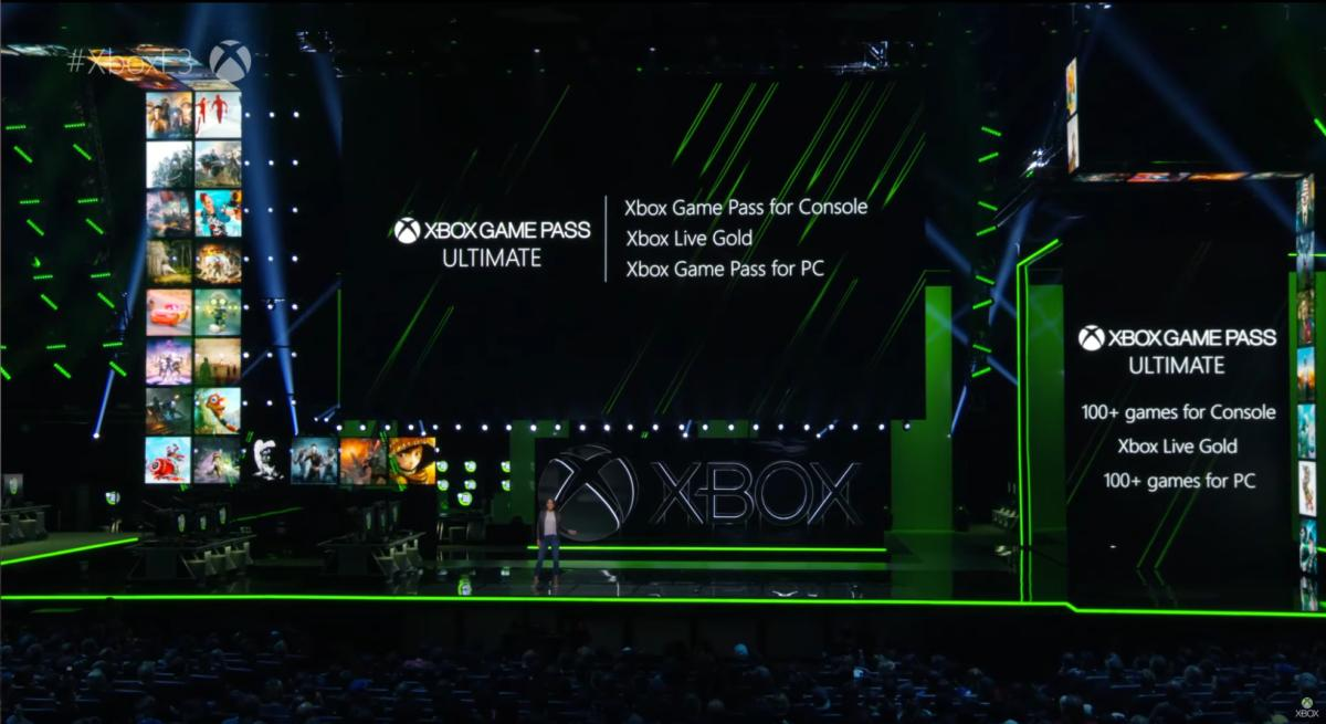 Xbox E3 2019 press conference Game Pass Ultimate 3