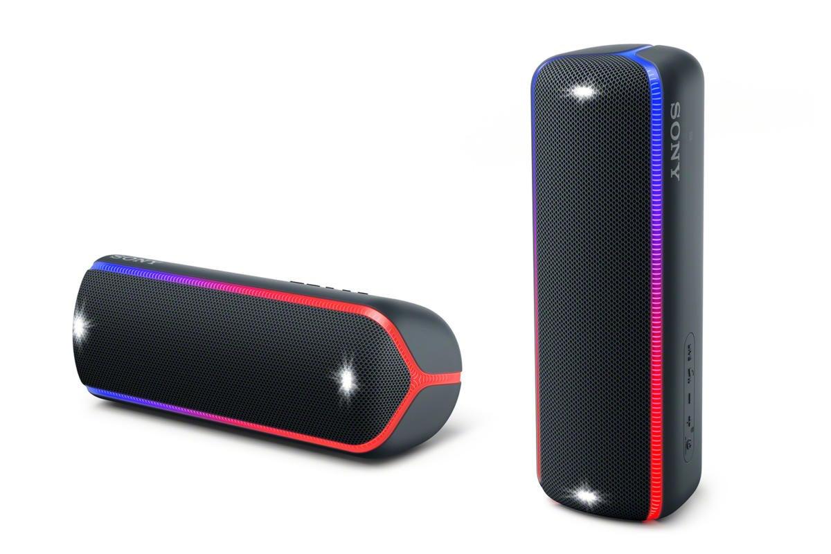 Sony SRS-XB32 Bluetooth speaker review: Flashy lights, fun