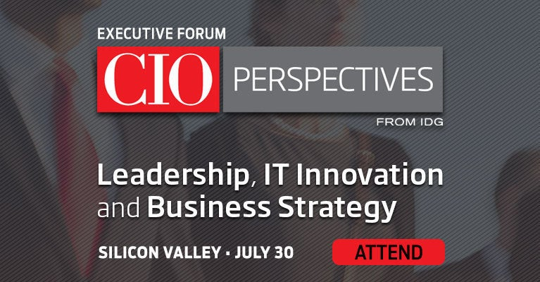 CIO Perspectives Silicon Valley - 7/30/19