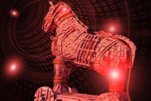 trojan horse malware virus binary by v graphix getty