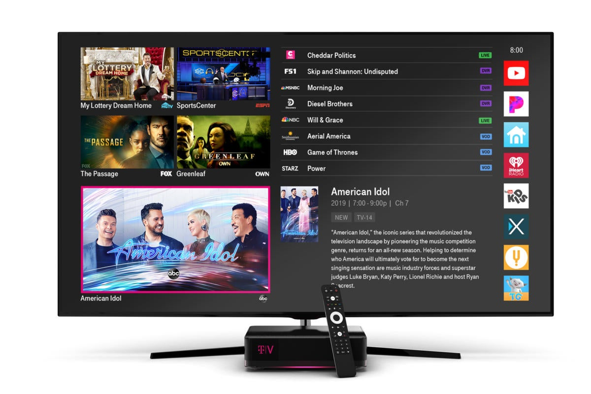 TVision by T-Mobile review: This streaming TV service shows promise, but it's not what cord-cutters want today