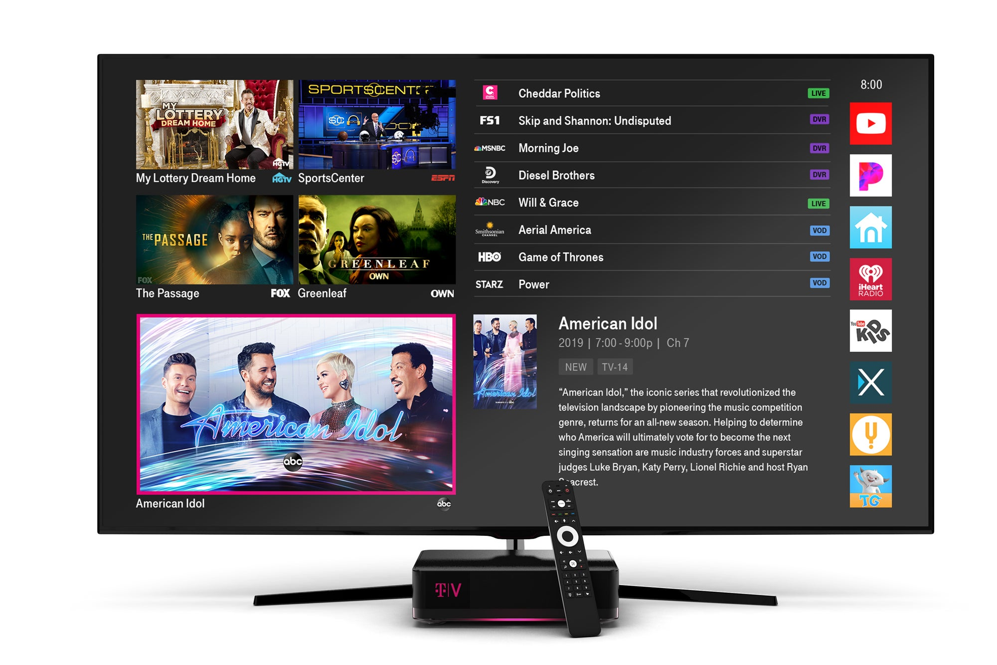 Tv Service Providers >> Tvision By T Mobile Review This Streaming Tv Service Shows Promise