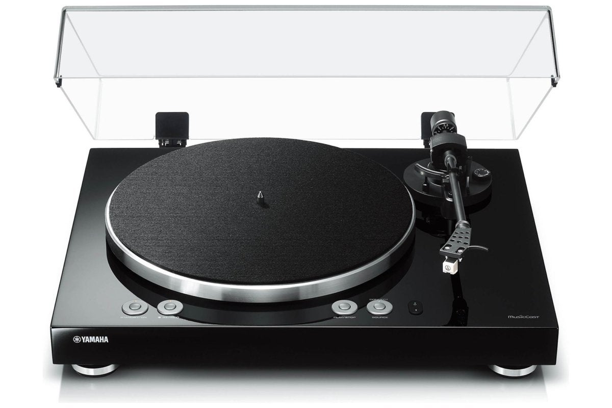 Yamaha MusicCast Vinyl 500 Wi-Fi turntable review: Stream your LPs