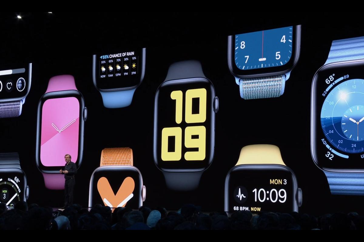 watchos 6 faces