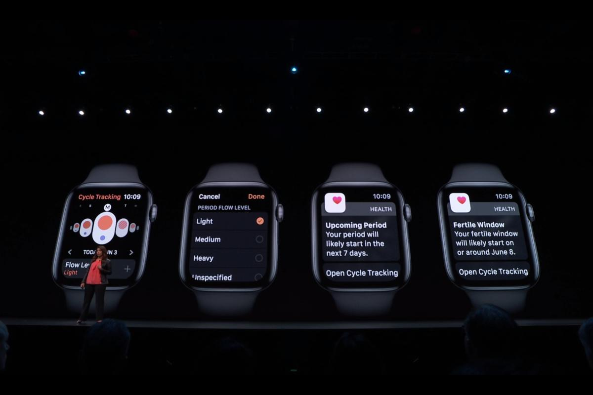 watchos 6 female health