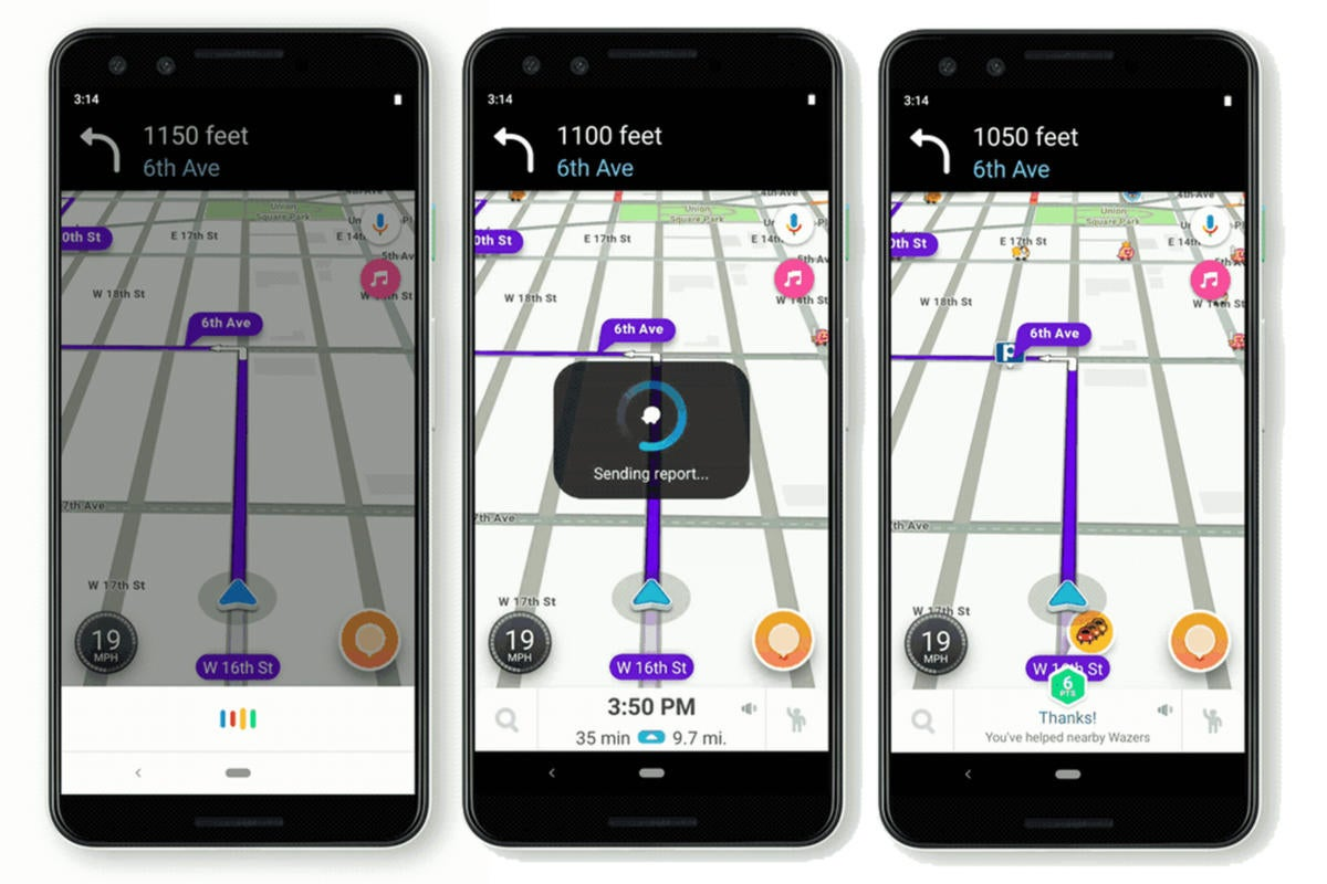 waze google assistant