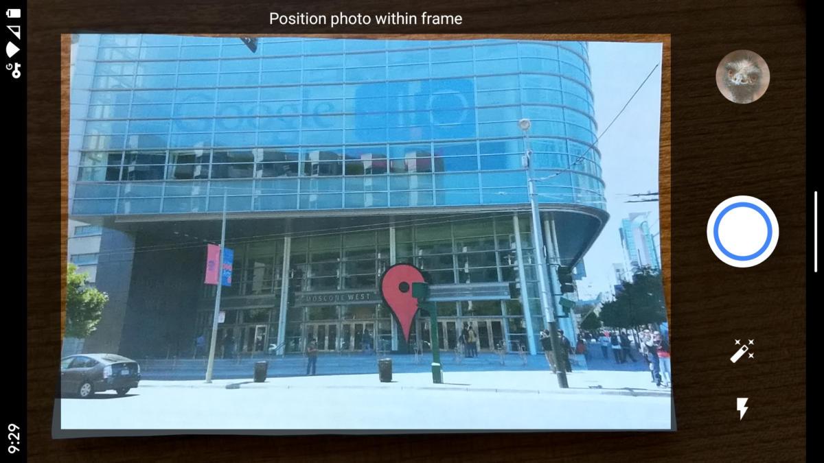05 android escaneo de impresión photoscan
