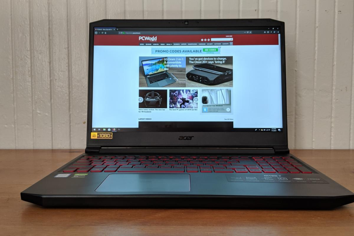 Acer Nitro 7 Review A Good Budget Gaming Laptop That Made Some Hard Choices Pcworld