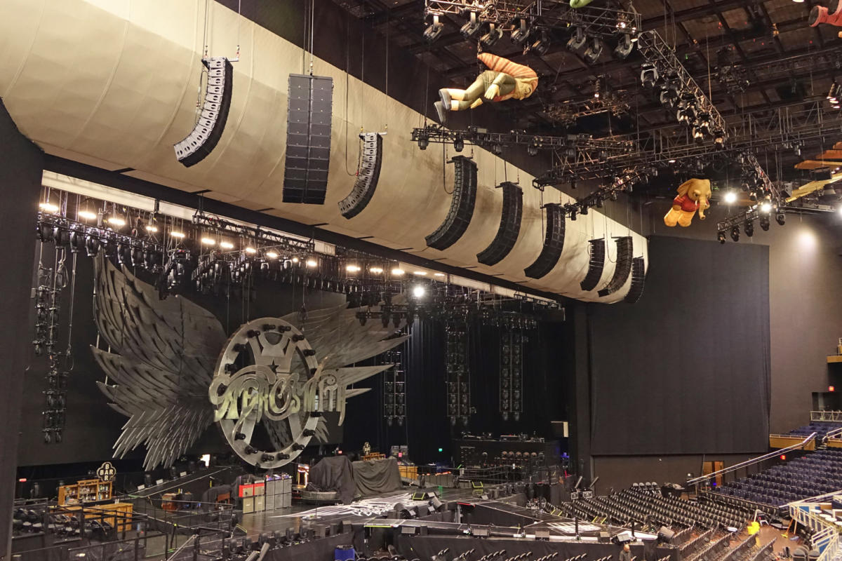 Aerosmith front array