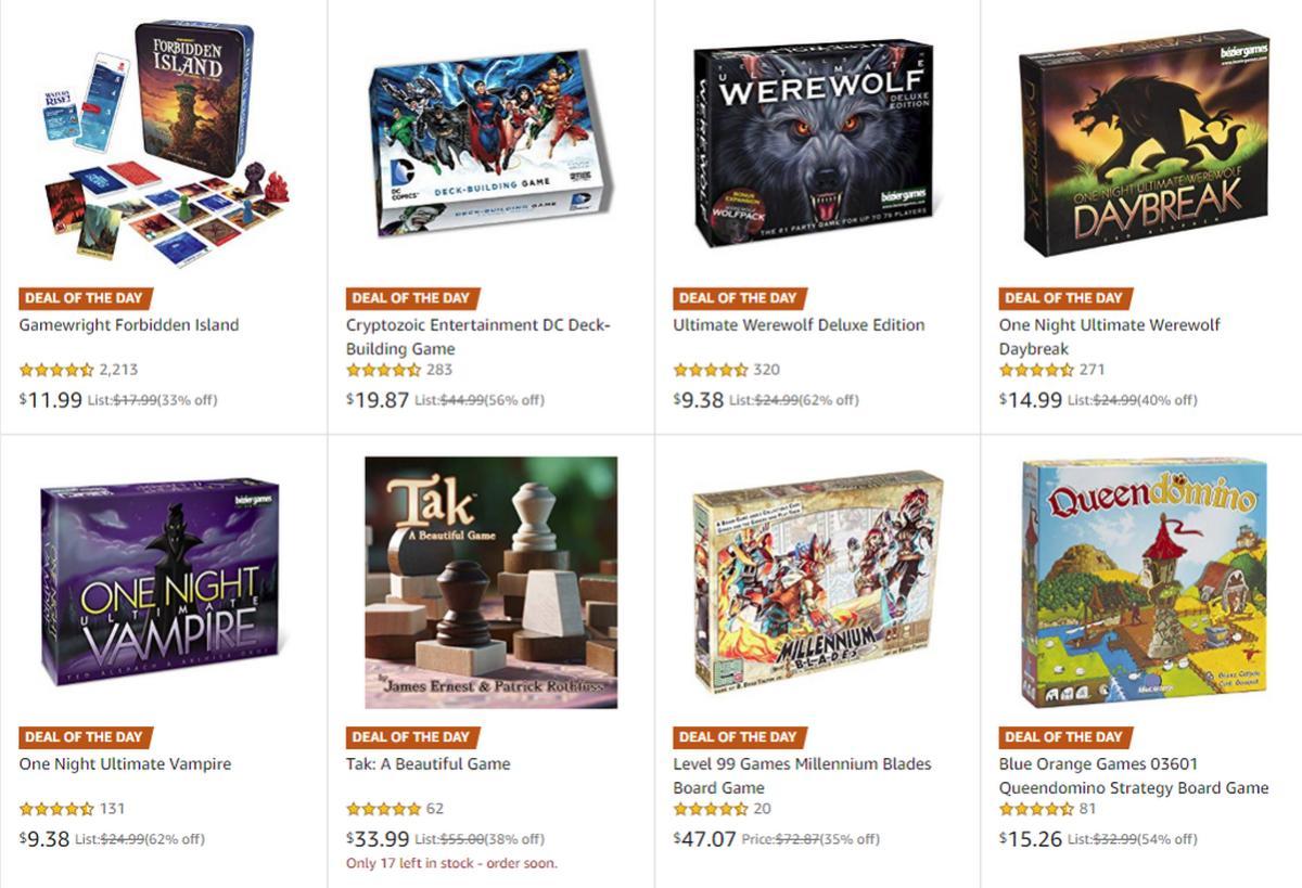 amazon board games