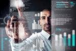 examining / analyzing / selecting / business data / statistics / analytics