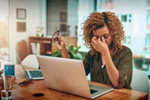 Could digital platforms help bolster UK workers' mental health?