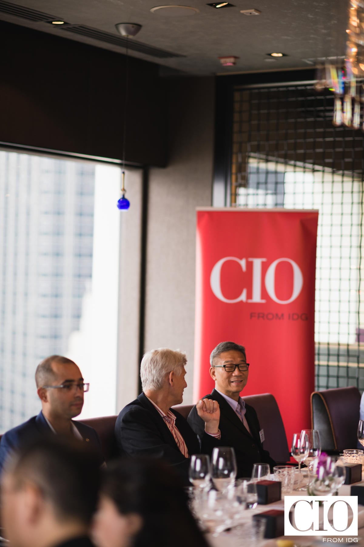 At the CIO ASEAN roundtable discussion on 'Using AI to unlock powerful data insights'.