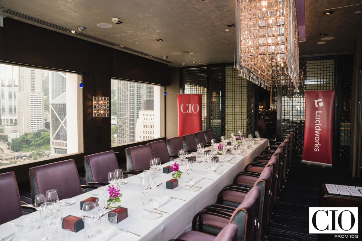 The Pierre Private Dining Room of the Mandarin Oriental in Hong Kong.