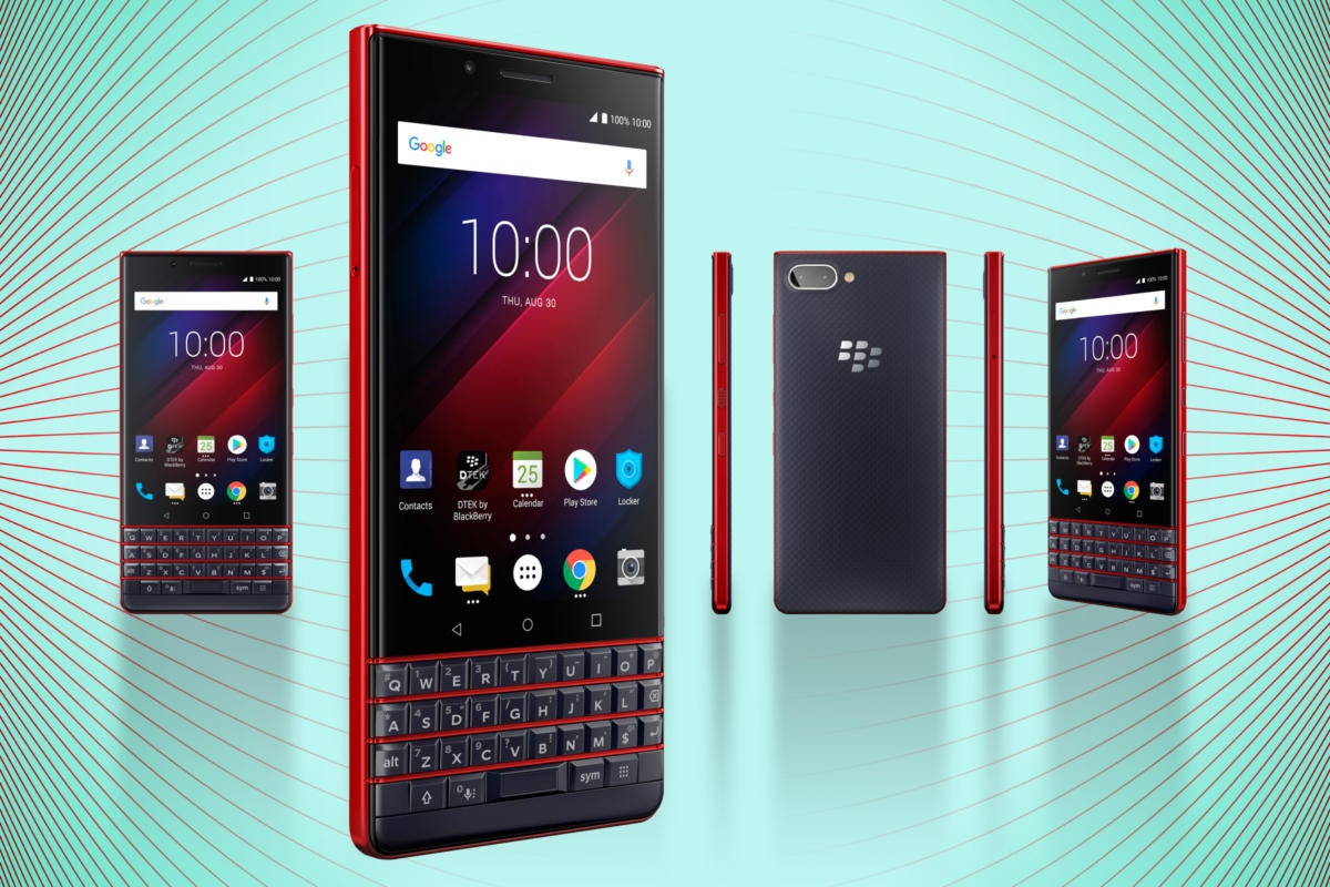 Computerworld > 5 Best Smartphones for Enterprise 2019 > BlackBerry KEY2 LE