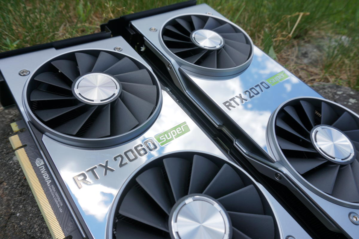 Nvidia GeForce RTX 2060 Super and RTX 2070 Super review