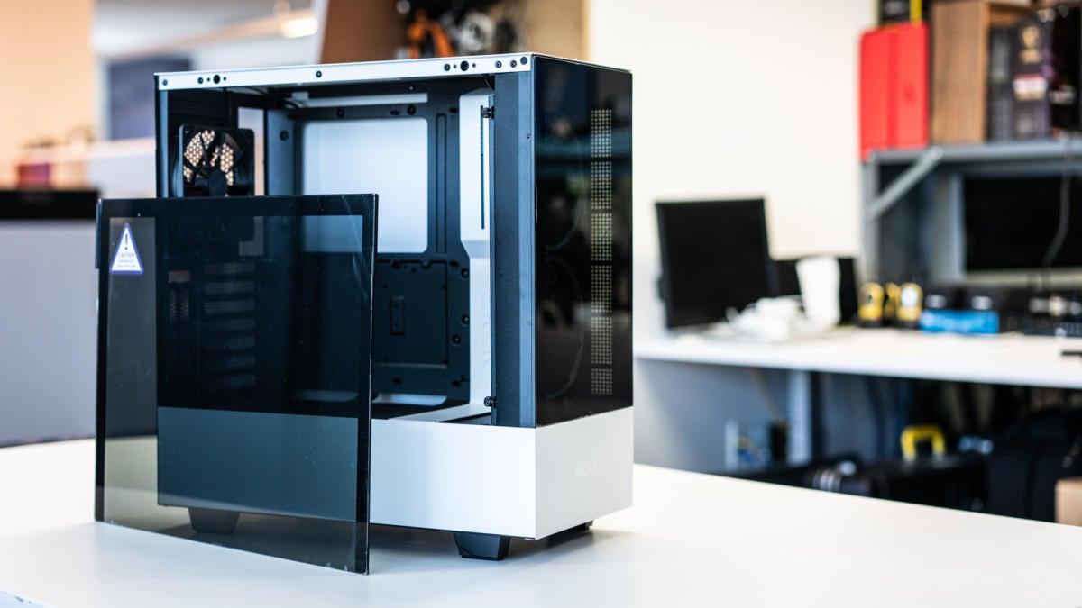 Nzxt H510 Elite Specs Teardown And Build Impressions