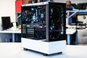 NZXT H510 Elite with parts