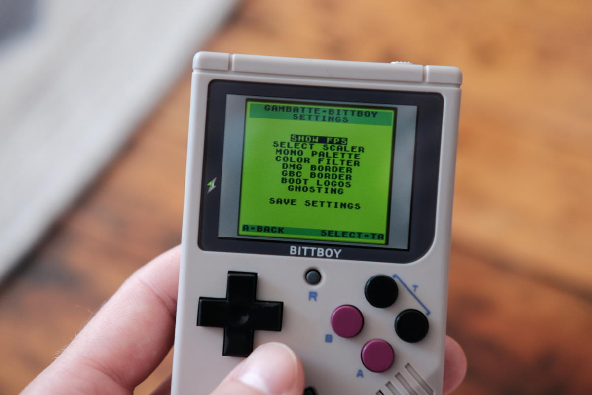 New BittBoy V3 review: The best option for retro gaming on