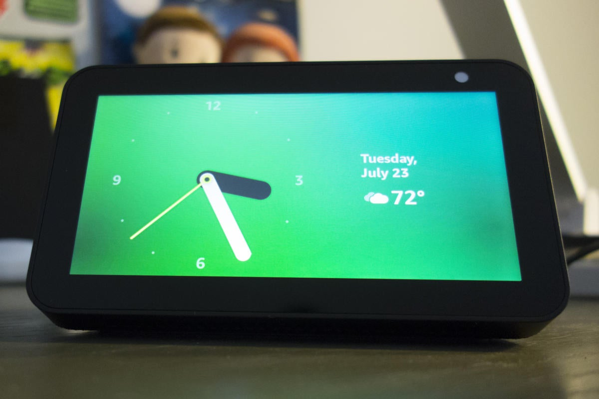 Amazon Echo Show 5 Review Small And Solid Wins The Race Techhive