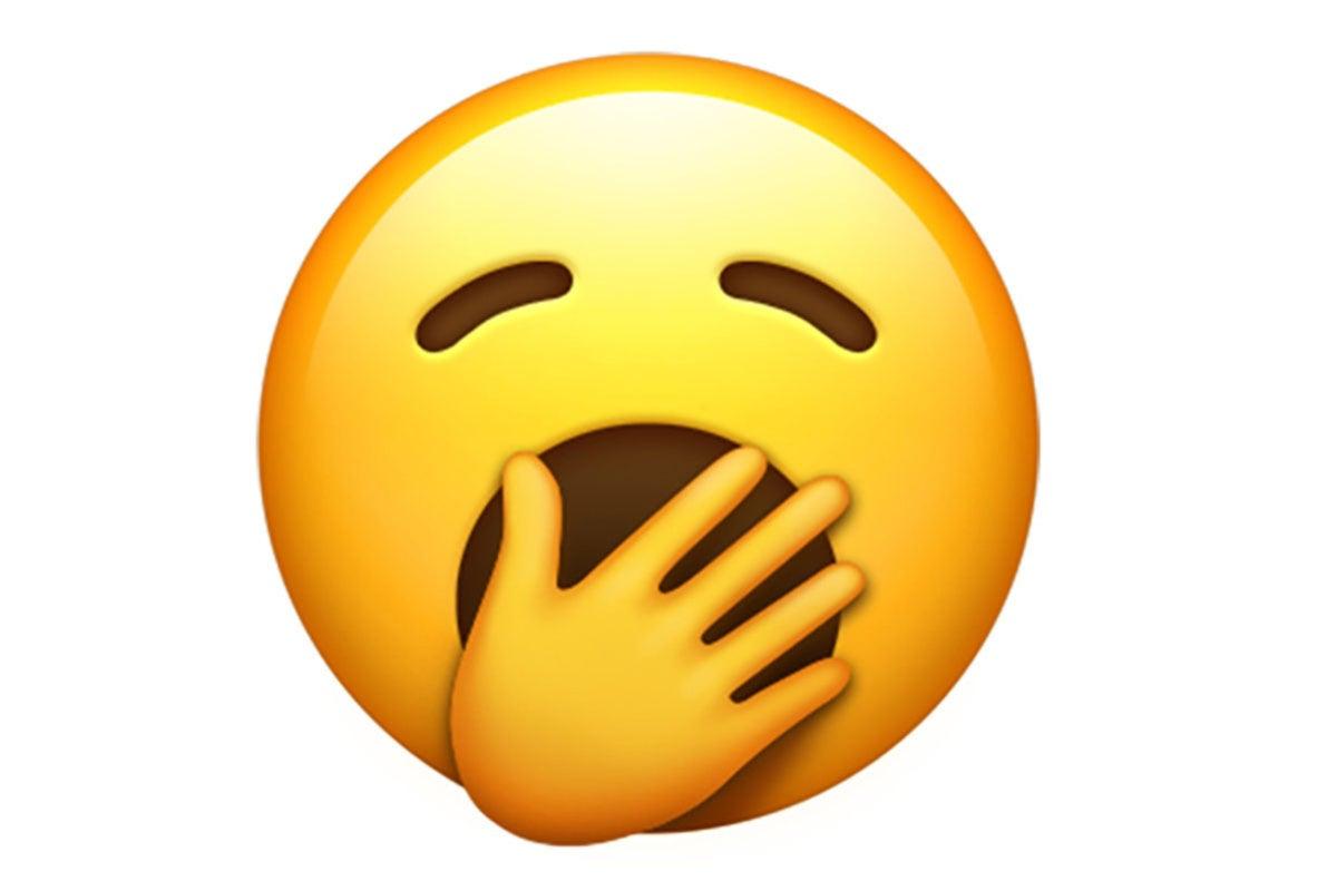 emoji 12 yawn