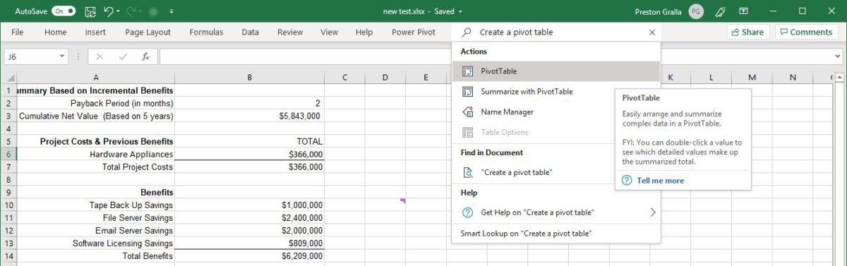 Excel for Office 365 cheat sheet | Computerworld