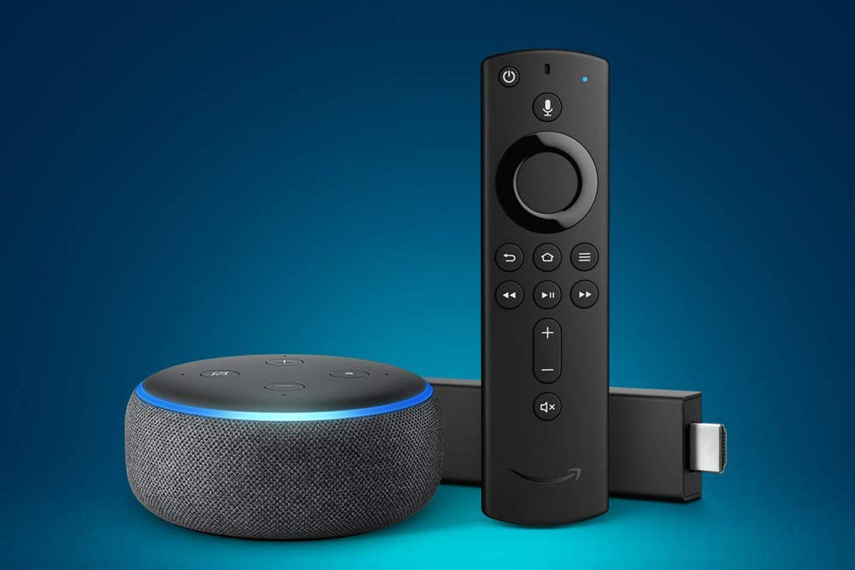 fire tv 4k and 3rd gen echo dot