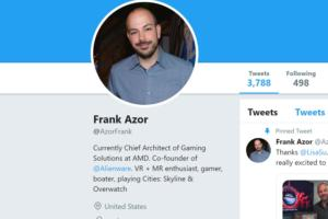 AMD officially hires Alienware's Frank Azor as its new gaming chief
