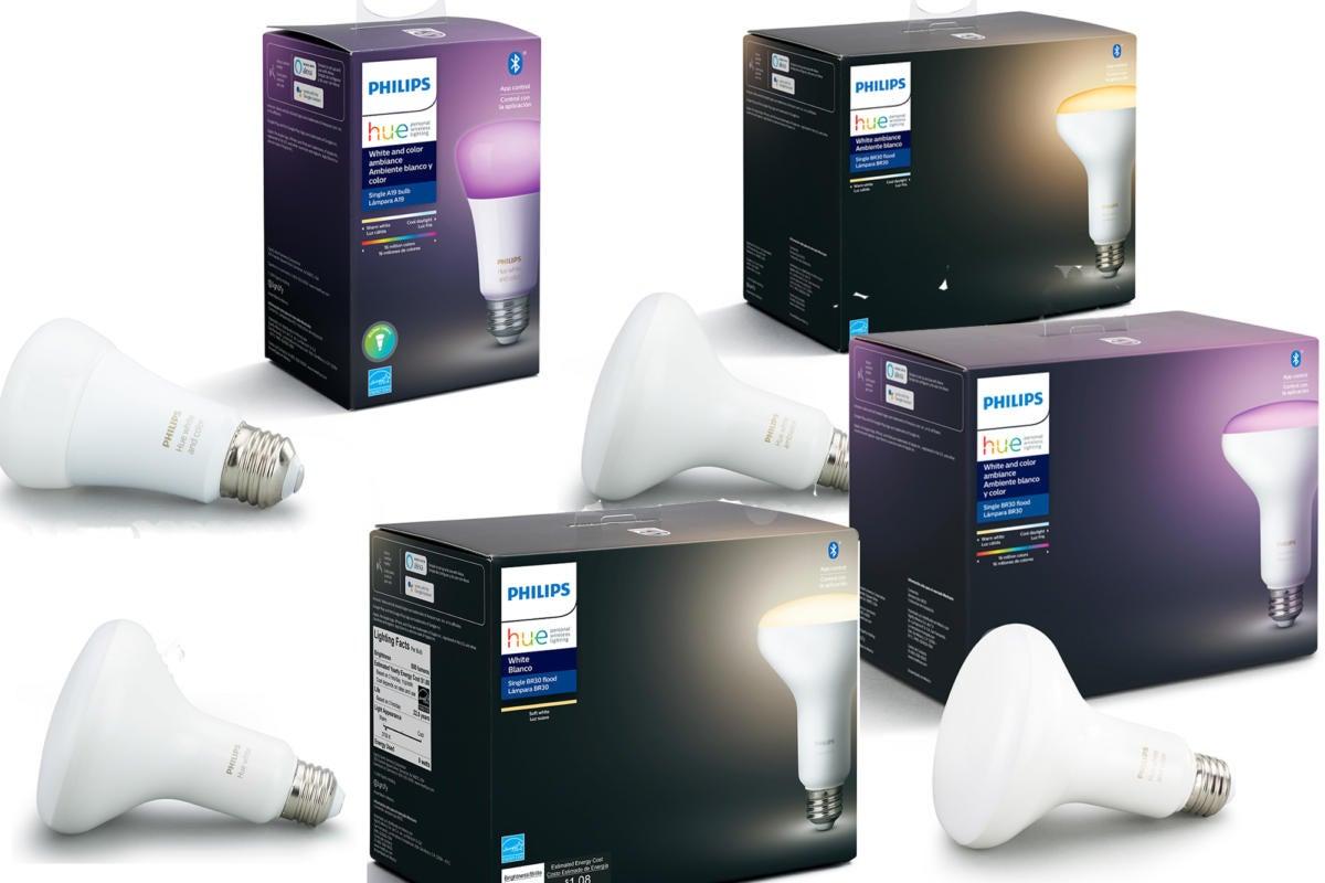 لامپ های بلوتوث رنگی