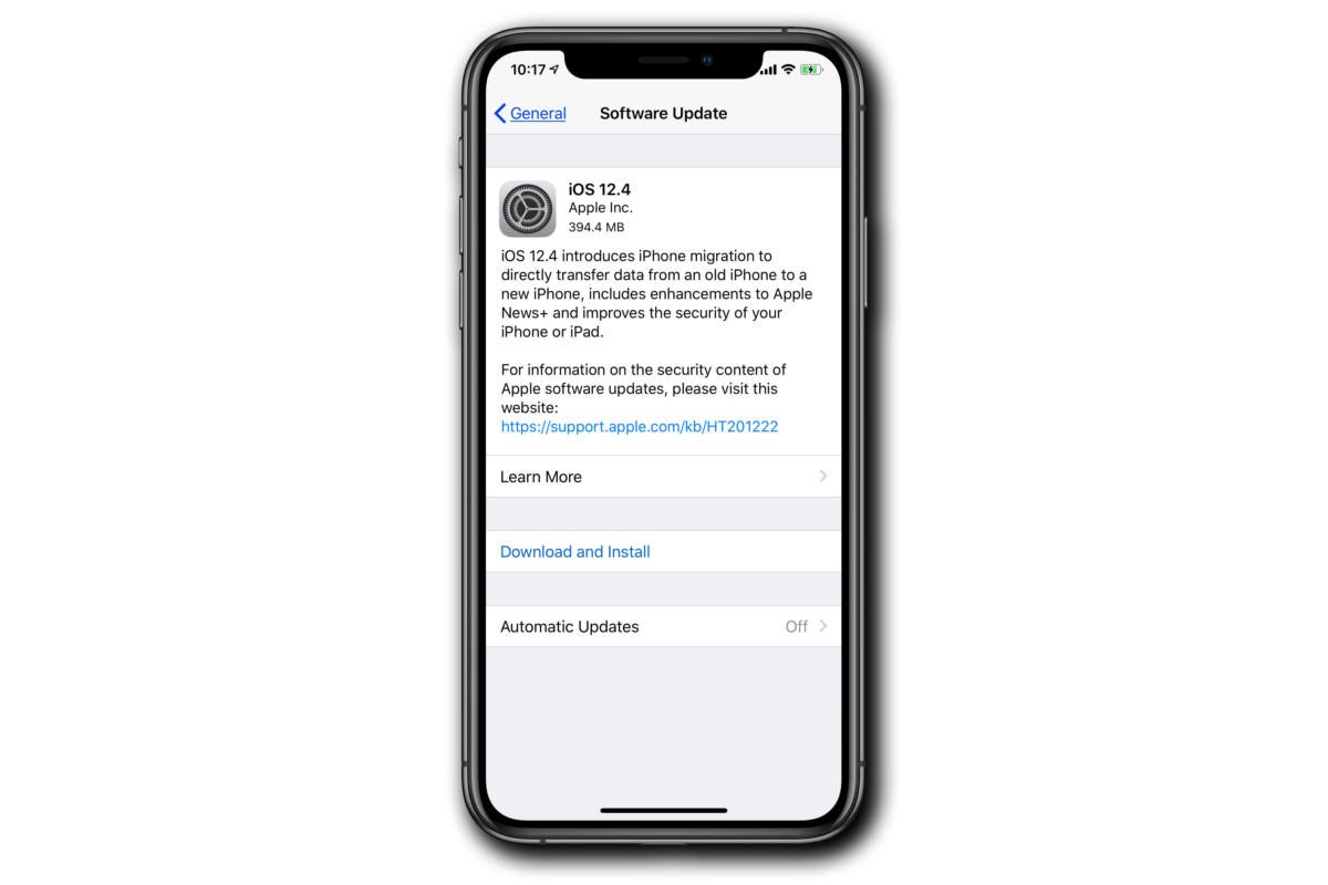 ios update 12 4