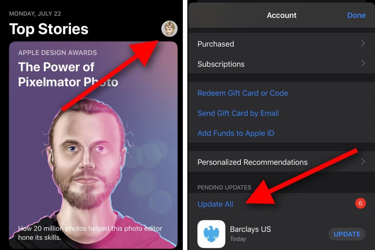 ios13 app store update