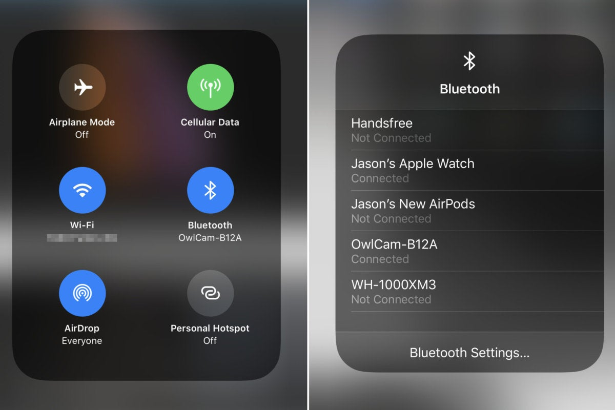 Ios 13 How To Quickly Connect To Bluetooth Devices Macworld