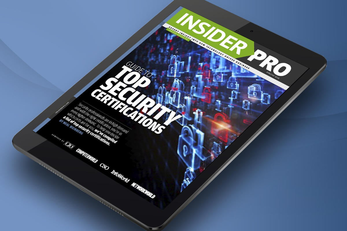 ip guide to top security certifications tablet
