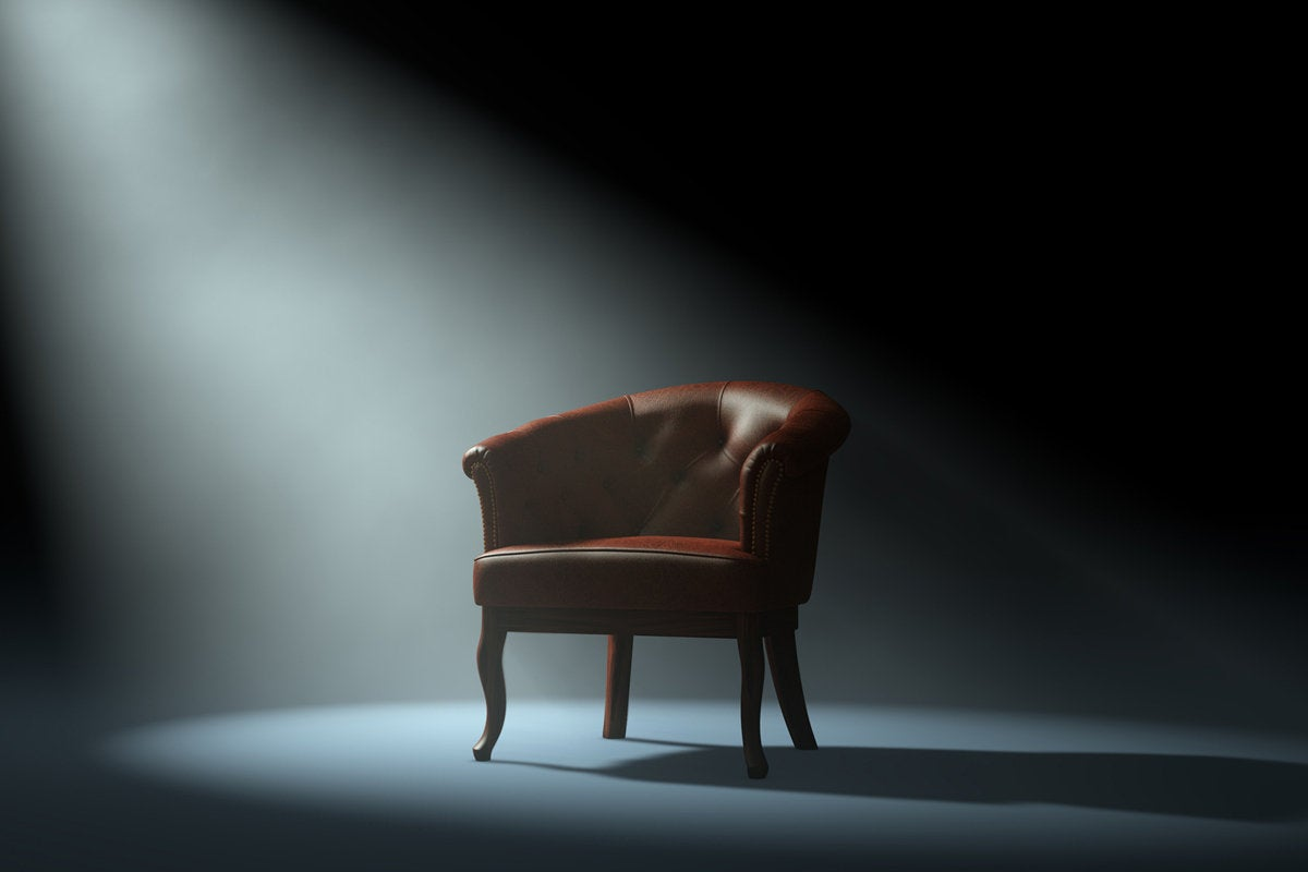 it staffing shortage leader empty chair with spotlight solo career fired termination