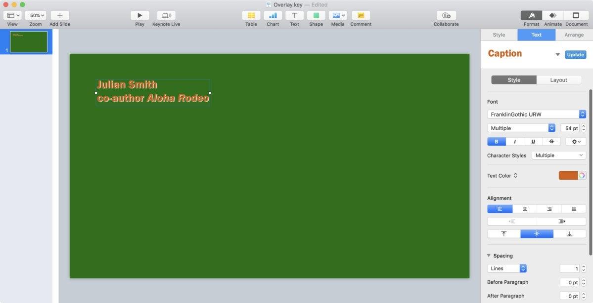 mac911 keynote overlay slide