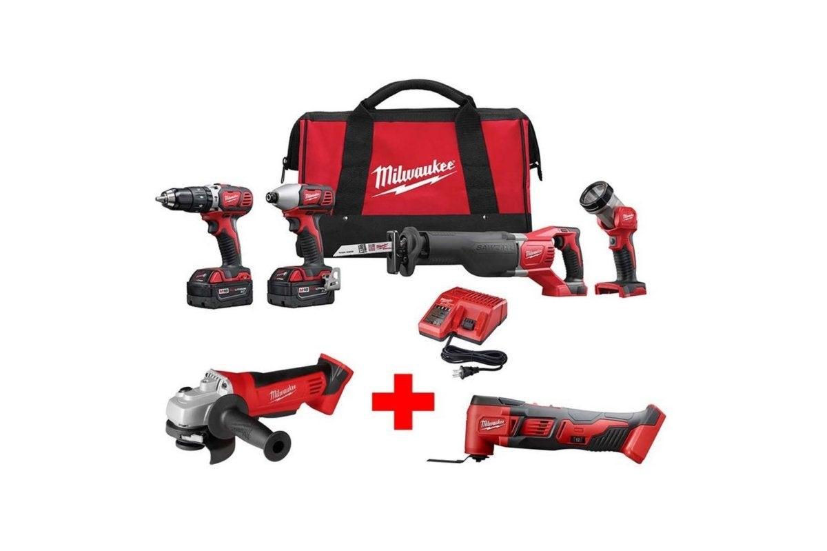 milwaukee power tool combo kits 2696 24 2680 20 2626 20 64 1000