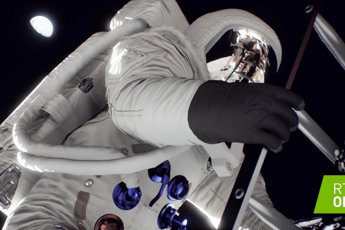 Nvidia moon landing 50th rtx 4