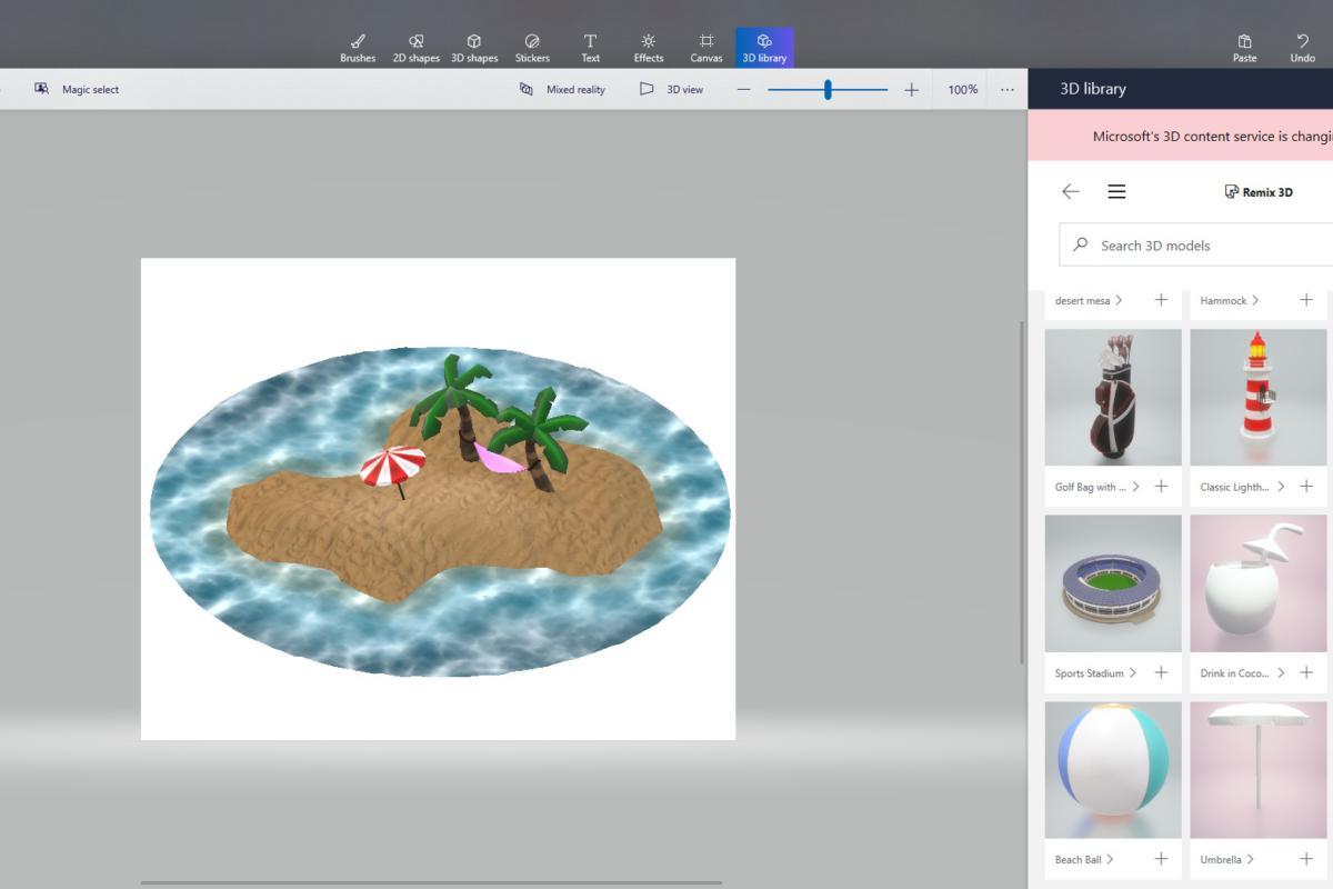 paint 3d remix3d