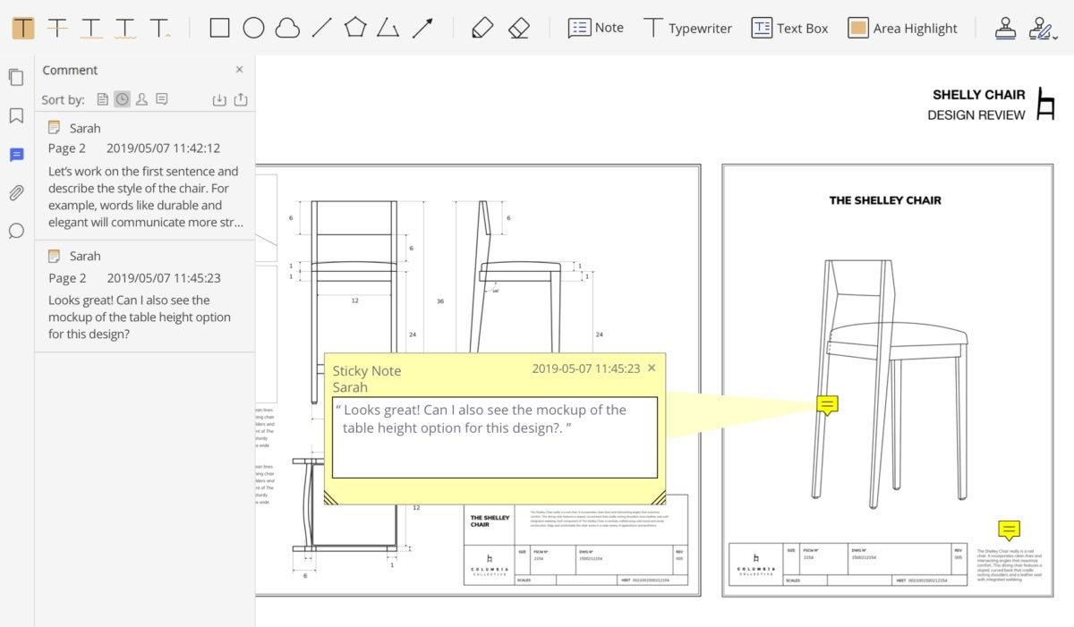 pdfelement annotate