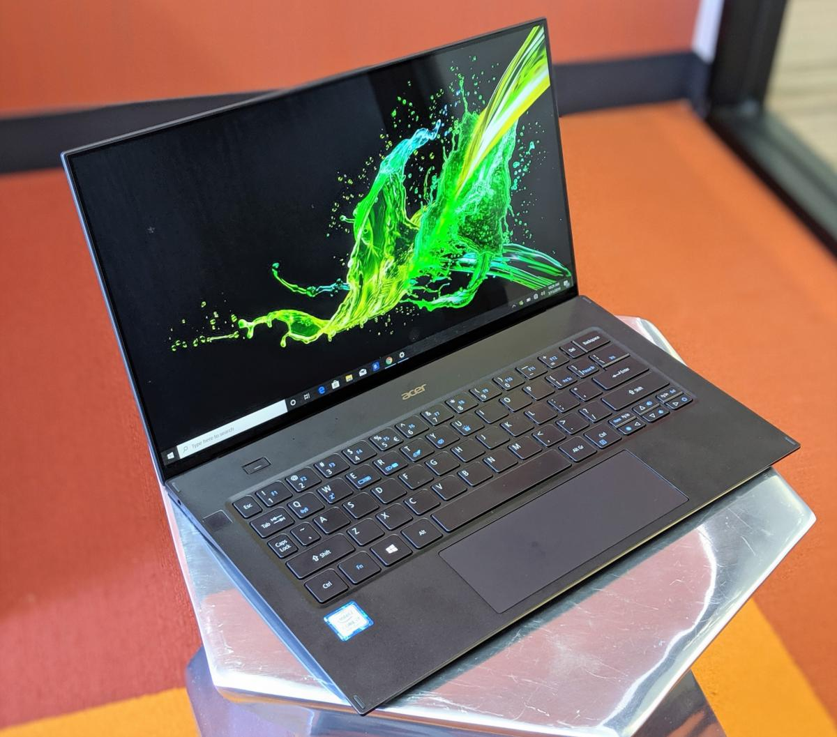 4eb018a908e Acer Swift 7 (July 2019) review: The ultimate thin-and-light laptop's flaw  is still performance