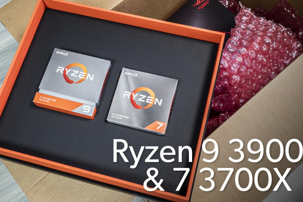 Ryzen 9 3900X & 7 3700X unboxing | PCWorld