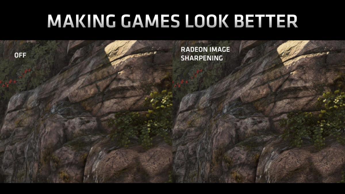 radeon image sharpening