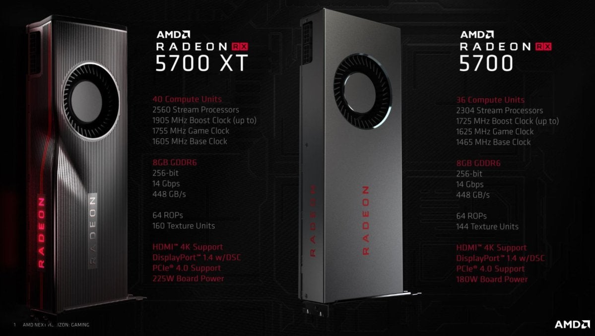 AMD Radeon RX 5700 and 5700 XT review: Blazing new trails | PCWorld