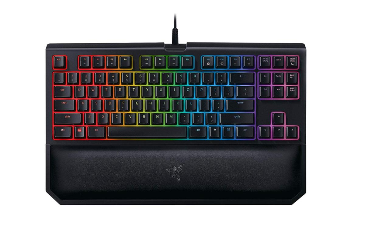 Step up your game: $40 off Razer's BlackWidow keyboard, and