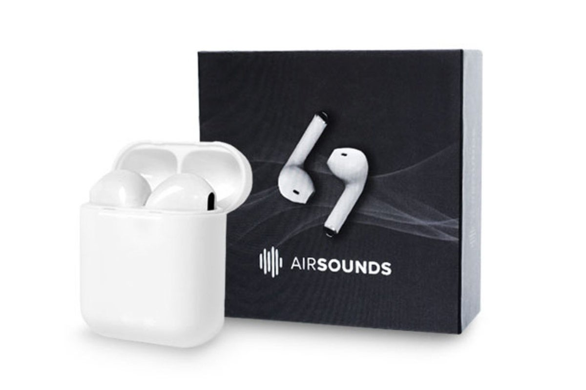 Flex these Apple AirPods-inspired Bluetooth 5.0 earbuds