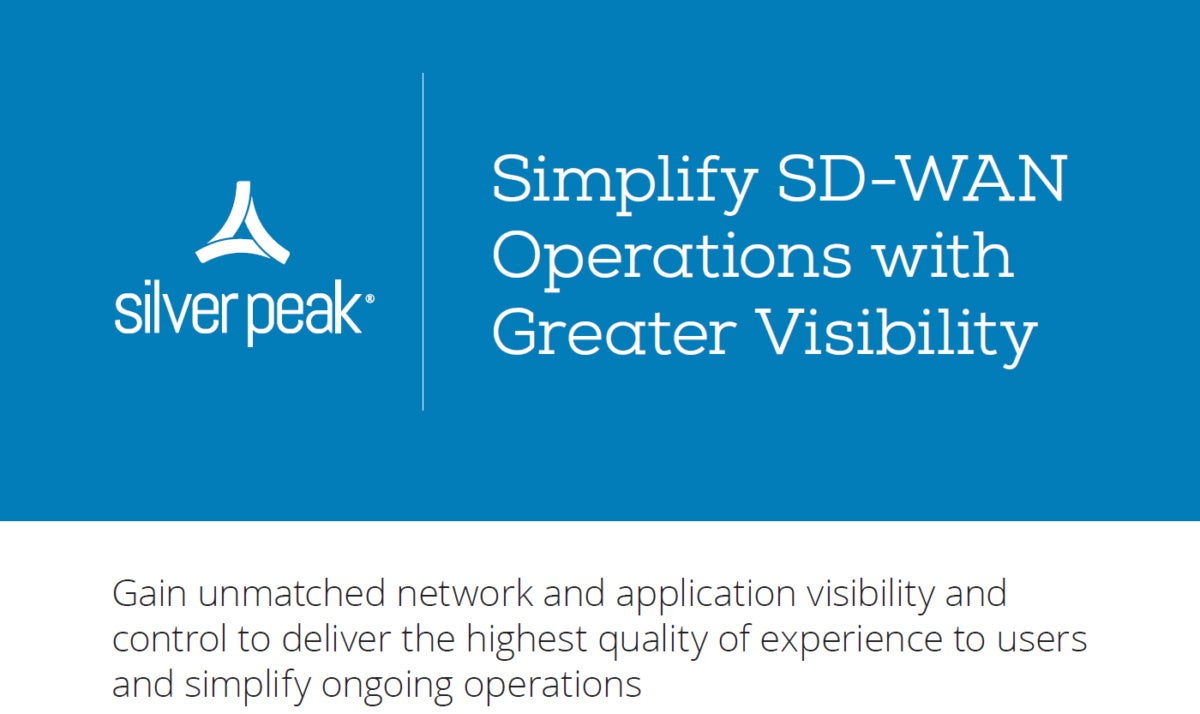 simplify sd wan operations with greater visibility